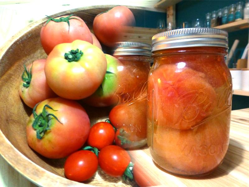 ホールトマトの作り方