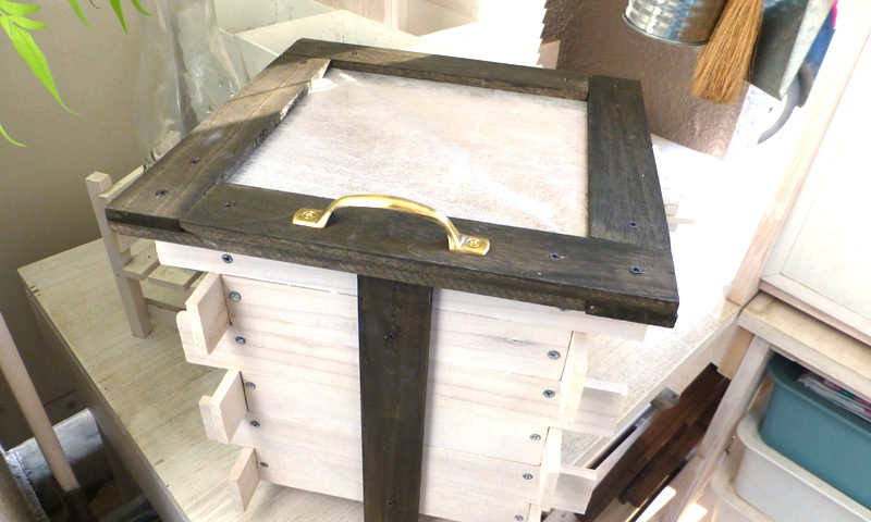 木製ミニコンポスト