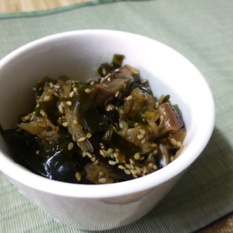昆布と椎茸と切り干し大根の佃煮